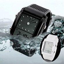 Fashion Unisex Womens Mens Digital Led Chronograph Quartz Sport Wrist Watch Brand New High Quality Luxury Free Shipping #390717