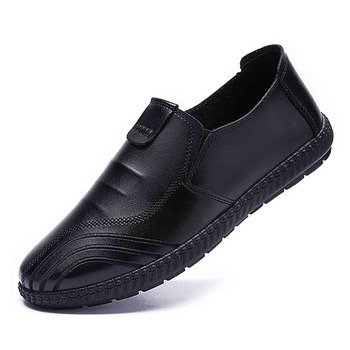 Shoes 39-44 Yards Leather Casual Shoes Spring New Korean Men's Shoes Tide Shoes Ins Super Fire Explosions Shoes Men