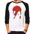 T-Shirt Man T Shirt superstar Cook Tops Rock star Chameleon David Bowie Men long sleeves brand clothing fitness body building