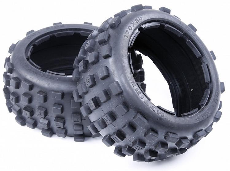 1/5 Baja 5B сзади узловатые шины Baja бедленда бездорожью Baja шины колеса для 1/5 масштаба HPI Rovan КМ Baja 5B 2.0SS Новый