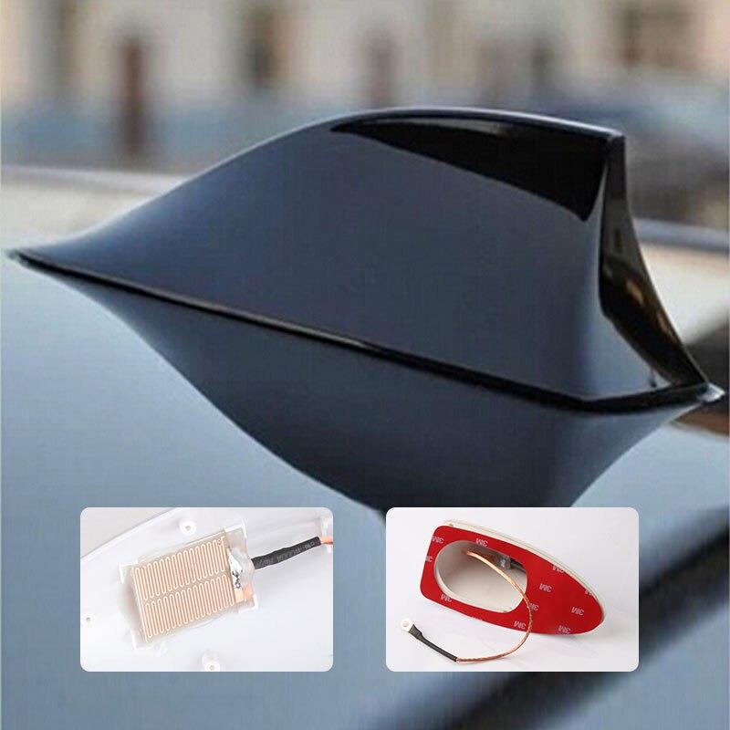 Car Shark Fin Antenna With Blank Radio Signal Shark Fin For For Ssangyong Korando Actyon Auto