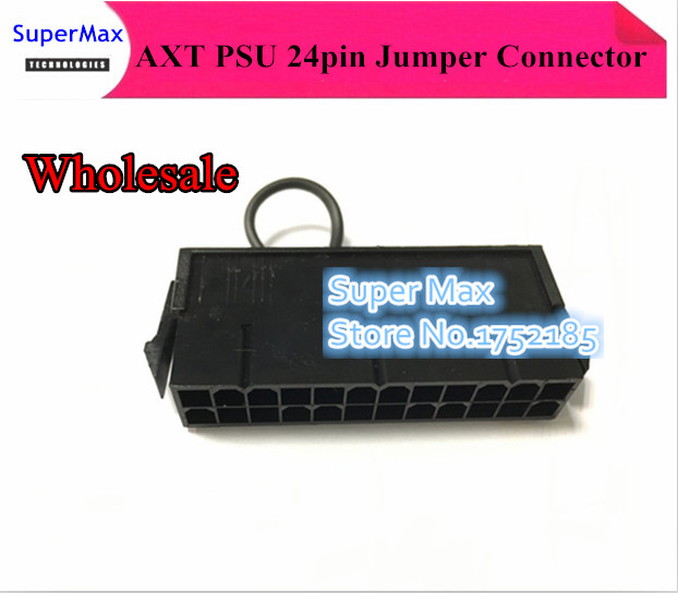 ATX PSU 24pin 24p power supply jumper starter jack adapter connector for BTC