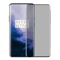 Protector de pantalla de privacidad para móvil, cubierta completa curvada 3D para Oneplus 7 7T 8 9 Pro 7pro 7T Pro 9H, cristal templado antiespía brillante