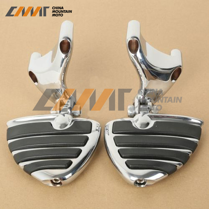 Motorcycle Wing Footrest Footpeg Bracket For Harley Sportster 883 1200 XL 2004-2013