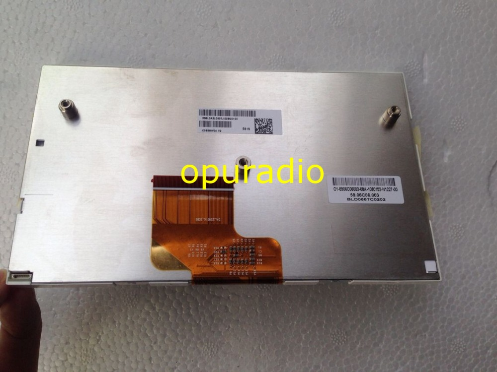 Free DHL Brand new AUO 6 5inch LCD display screen for Audi A6 C7 2012 year