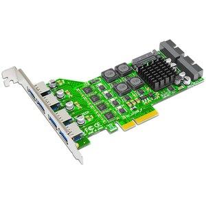 USB 3.0 8 Port PCI Express Car
