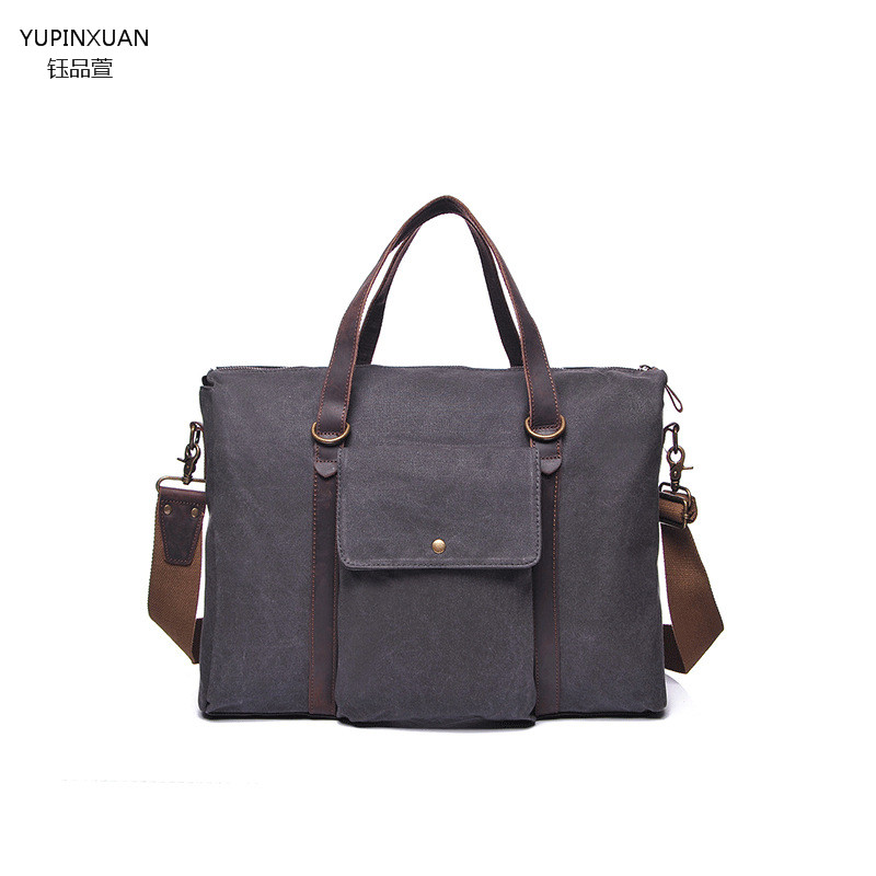 YUPINXUAN Women Canvas Shoulder Bag Female Designer Handbag Retro Ladies Canvas Tote Bags Retro Messenger Bag Mujeres Bolso aosbos fashion portable insulated canvas lunch bag thermal food picnic lunch bags for women kids men cooler lunch box bag tote