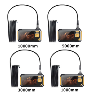 Image 5 - 4.3 inch 6LED 8mm Endoscope 1080P Inspection Camera Borescope 18650 Battery Industrial Snake Hard Handheld Endoscope