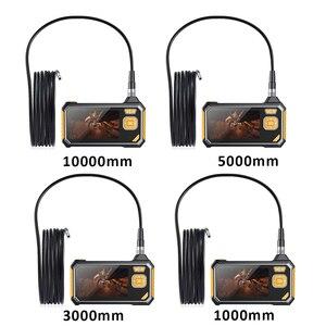 Image 5 - 4.3 pollici 6LED 8 millimetri Endoscopio 1080 P Macchina Fotografica di Controllo Del Periscopio 18650 Batteria Industriale Serpente Duro Endoscopio Palmare