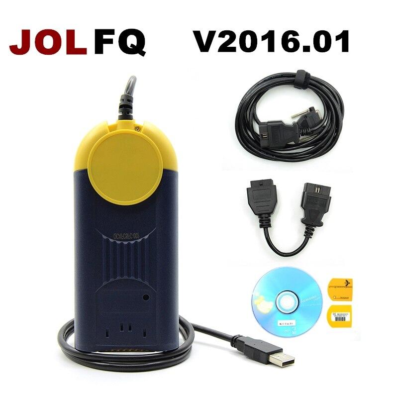 DHL Free J2534 V2016 1 Multi Diag V2016 Access J2534 Pass Thru OBD2 Device Actia 2016