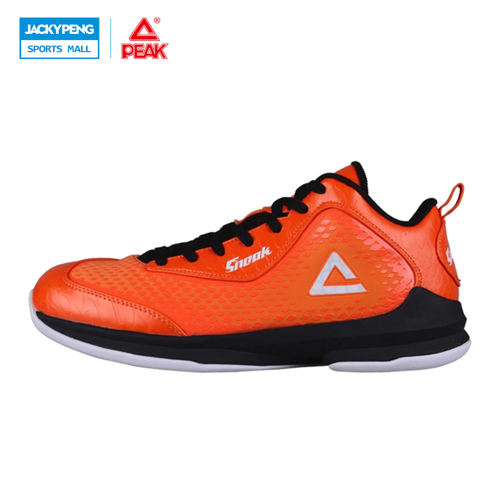 PEAK SPORT Men Basketball Shoes Breathable Comfortable Sneakers COOL FREE Tech Durable Rubber Outsole Athletic Training Boots peak sport star series george hill gh3 men basketball shoes athletic cushion 3 non marking tech sneakers eur 40 50