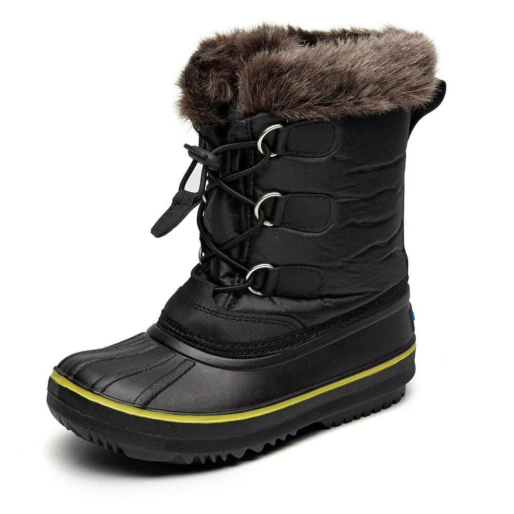 Frozenbear Winter Children Martin Boots Snow boys Boots B