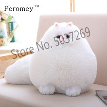 Kawaii Fluffy Cat Plush Toys Persian Cat Stuffed Dolls Soft Pillow Stuffed Animal Peluches Dolls Baby Kids Toys Christmas Gifts fluffy toy hidden cat hide and seek game baby animated stuffed elephant dolls m15