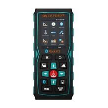Sale Mileseey K3 Bluetooth Digital Laser Distance Meter Rangefinder Smart mOS With Color Display, With End Piece Design