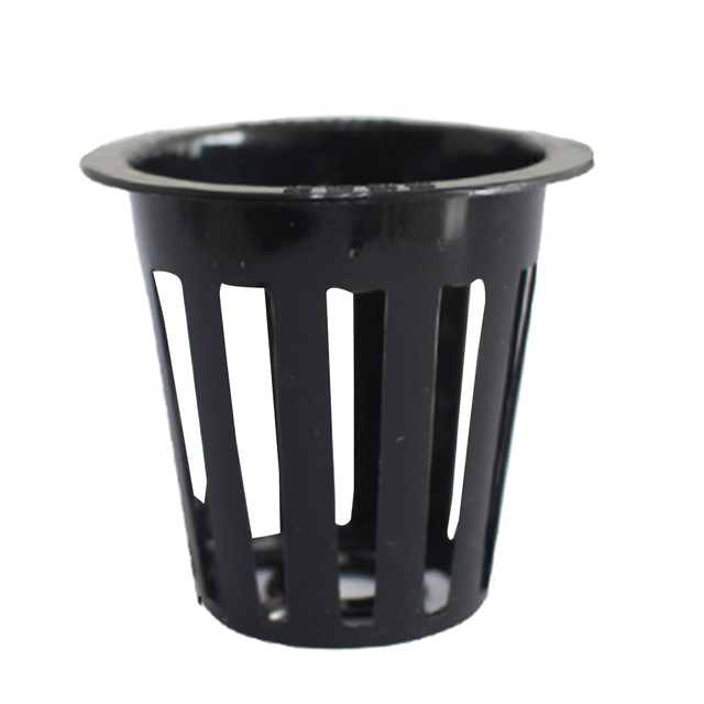 VICTMAX 10Pcs Garden Nursery Pots Water Soilless Culture Planting Basket Holder Hydroponic Mesh Net Pot Basket