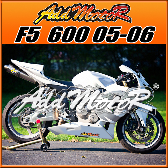 Us 333 0 Addmotor Injection Mold Fairing Body Kit For F5 Cbr600rr 05 06 Cbr 600 Rr 2005 2006 Cbr 600rr Abs Plastic Silver White H6511 In Covers