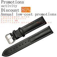 ZLIMSN Soft Genuine Leather Watchbands 24 21mm Watch Band Strap Reduced prices activities Discount of 60% Annual low cost stocks