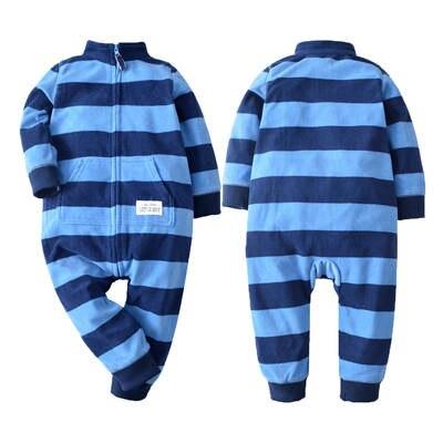 32ee2bcda Online Shop 2018 Baby clothes bebes jumpsuit collar fleece newborn ...