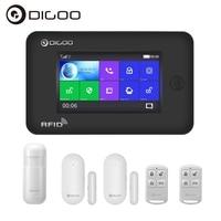 Digoo DG HAMA All Touch Screen Alexa Version 433MHz GSM WIFI DIY Smart Home Automation Modules