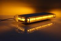 Автомобильные длинные взвода взрыв вспышка Предупреждение лампы 40 светодиодный высокое Мощность крыши Предупреждение патруль потолочный