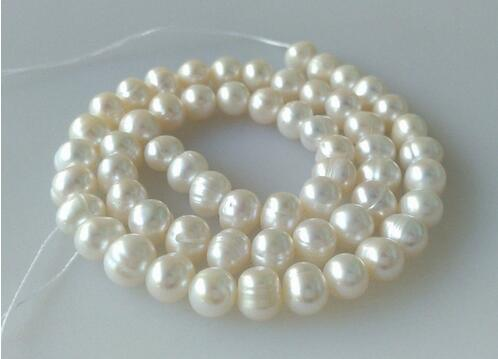 Handmade Natural 4 mm 6 mm 8 mm 10 mm BLANC Coral Gemstone Beads Stretch Bracelet