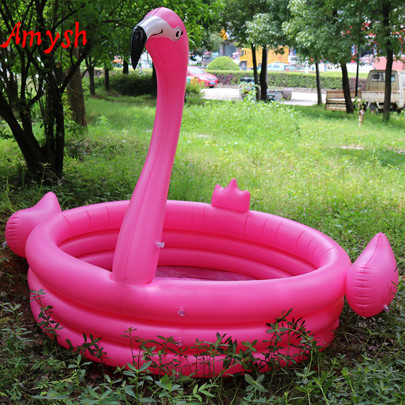 Amysh Summer Outdoor Cute Flamingo Children Inflatable