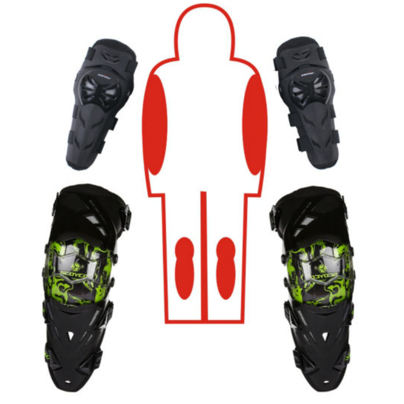 ФОТО Motorcycle Protective kneepad Scoyco K12E01 Knee Elbow Protector equipment joelheiras de motocross CE Approval Guards racing