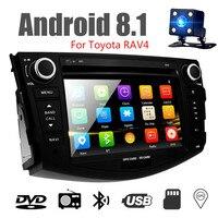 7 ''2Din Android 8,1 dvd плеер для Toyota RAV4 2007 2008 2009 2010 2011 Автомобильный мультимедийный плеер автомобильное радио с GPS навигации wi fi