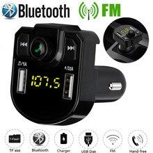 Rovtop автомобильный комплект громкой связи, беспроводной Bluetooth, fm-передатчик, ЖК-дисплей, Автомобильный MP3-плеер, USB зарядное устройство, fm-модулятор, автомобильные аксессуары
