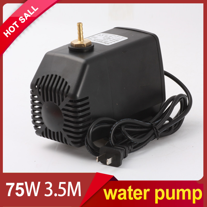engraving machine tool cooling 75w 3.5m water pump for cnc router 2.2kw spindle motor and 1.5kw