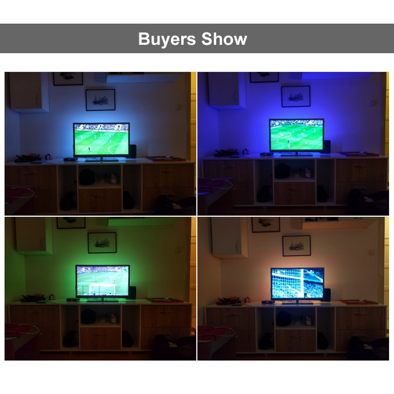 Tiras de Led usb rgb led strip 2835 Color Temperature : 2700k