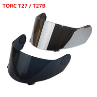 Torc T27 T27B MOTORCYCLE Helmet Replacement Face Shield Visor Blinc Bluetooth Modular Flip Up Helmets Glass