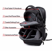 Fast Shipping Waterproof Photography backpack Camera Case Adjustable Camera Bag Backpack for Traveling Explosion proof