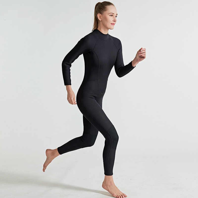 Sbart 2mm néoprène femmes/hommes combinaisons de plongée sous-marine une pièce combinaisons de plongée combinaisons de surf