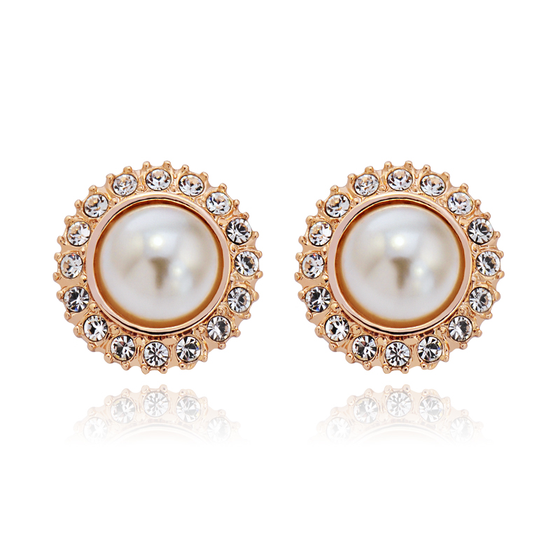 IDESTINY Clip en pendientes para No agujero perforado orejas para las mujeres nueva moda flor diseño mejor Bijoux regalo para la madre día de