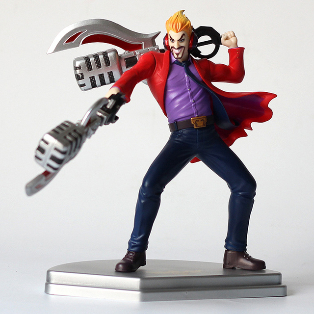 LOL League of Legends figure Action Game Draven Glorious Executioner Character Model Toy Action 3D Game Heros anime party Gift