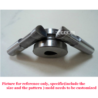 1 set Round mold/die set/punch for the Double punch tablet press machine/pill press/stamp/ design mould