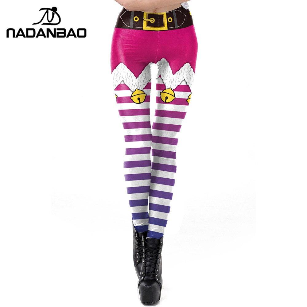 4deb271d7b9de Cheap Leggings, Buy Directly from China Suppliers:NADANBAO Purple Stripe  Tribe Women Leggings Christmas