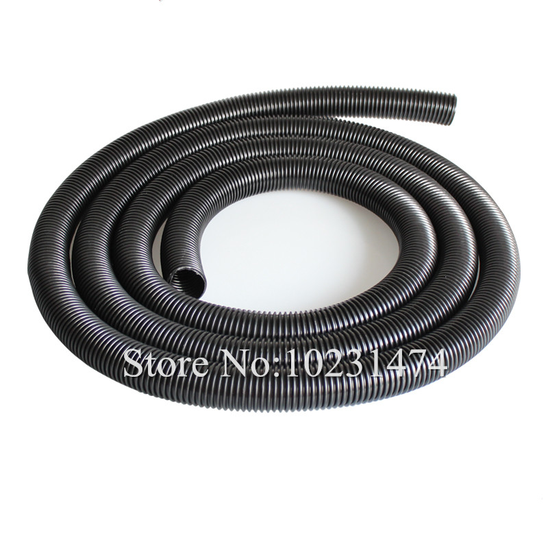 Industrial Vacuum Cleaner Parts Black Pipe EVA Hose 38mm 45mm Genenal Hose