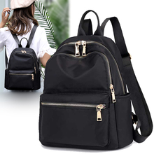 купить Backpack female 2019 new Korean version of the tide Oxford cloth small backpack ladies nylon wild fashion canvas bag по цене 3126.3 рублей