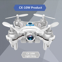 Cheerson CX-10W CX-10WD WiFi Drone Con Cámara Mini 6-Axis Gyro RC Quadcopter Headless Modo Vuelo FPV Cámara wifi Helicóptero de Juguete