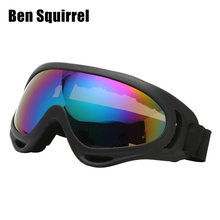 цены на BEN SQUIRREL Ski Goggles Men Women Snowboard Goggles Glasses for Skiing UV400 Protection Snow Skiing Glasses Anti-fog Ski Mask  в интернет-магазинах