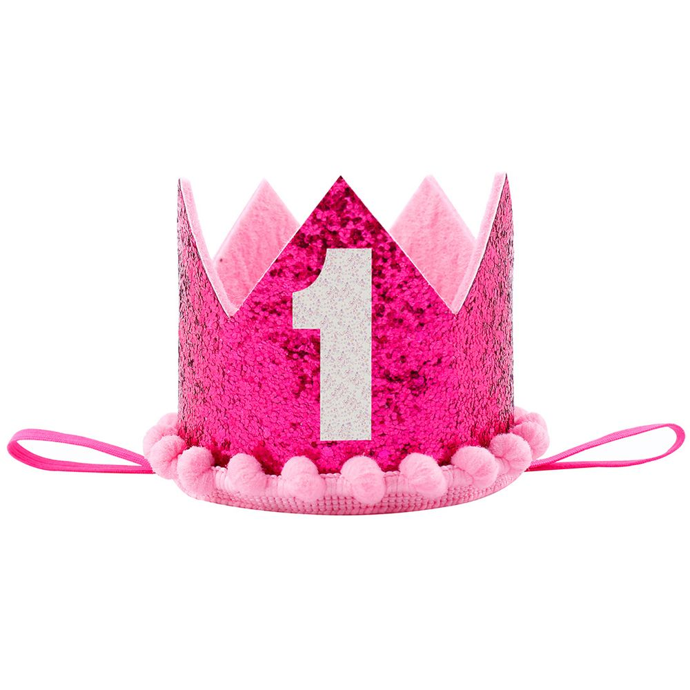 1Pc Fashion Cute Girl Headbands Princess Headwear Shiny Crown Kids Birthday Cap Hair Accessories Hot Sale In From Mother On
