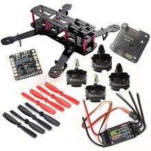 DIY QAV250 ZMR250 Quadcopter HP T2204 2300KV Motor EMAX BLHeli 20A ESC NAZE32 6DOF FC Matek Power Hub