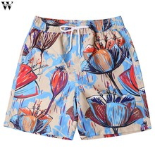 2019 New Hot Beach Shorts Men Summer Quick Dry Comfortable Beachwear Homme Couple Casual Board Short Plus Size 3XL Feb1(China)
