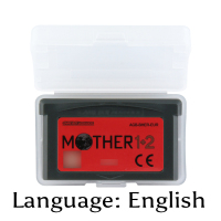 32 Bit Video Game Cartridge Mother 1+2 Console Card EU Version English Language Support Drop Shipping32 Bit Video Game Cartridge Mother 1+2 Console Card EU Version English Language Support Drop Shipping