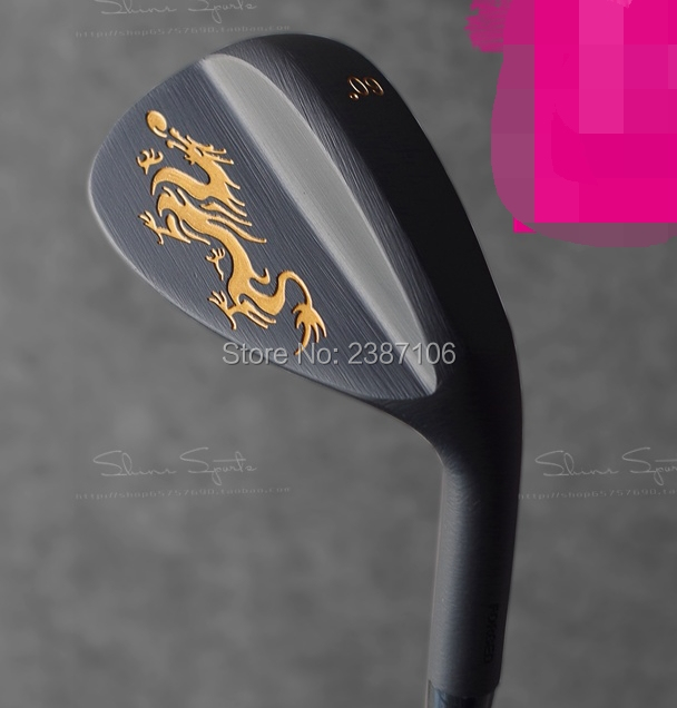 Playwell DRAGON  2016 forged  carbon steel  golf   wedge head   wood  iron  putter  head new golf head romaro alcobaca tour stream forged carbon steel golf wedge head have 50 56 58 deg loft no golf shaft free shipping