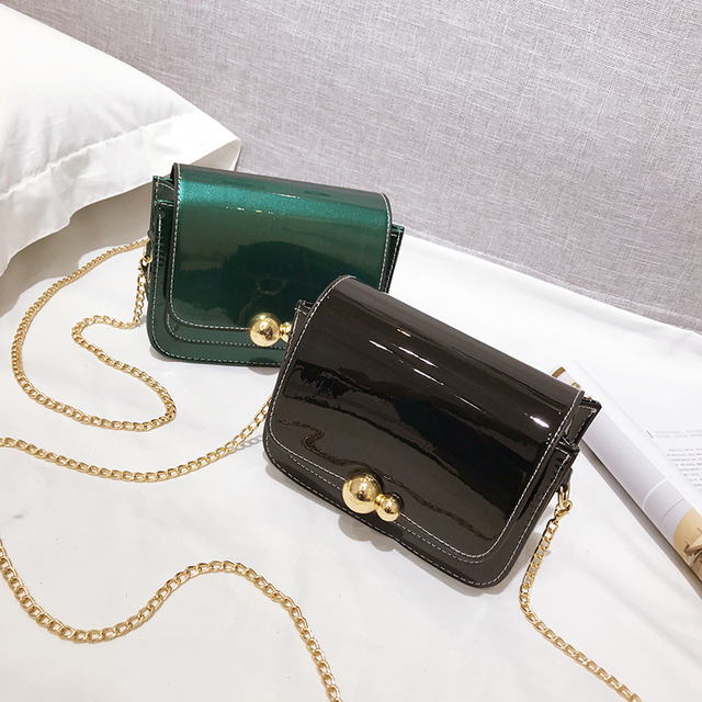 f168ce89d3 2018 New Chain Sequins Women Bag