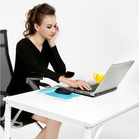 Superior Aluminum Alloy Computer Mouse Hand Bracket Adjustable Arm Mouse Pad For Home And Office