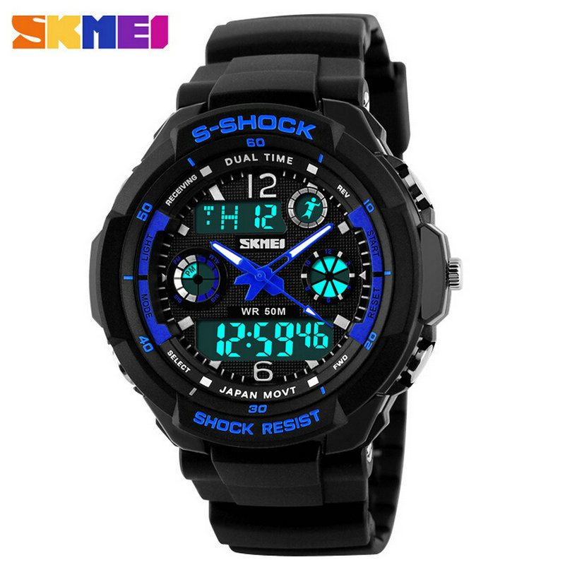 Skmei made in China fashion students luminous girl multi function teenagers water resistant children watch alarm